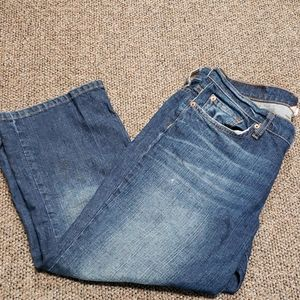Lucky Brand Capri Cropped Jeans Size 12